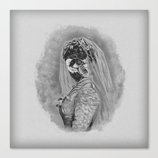 Bride I Canvas Print