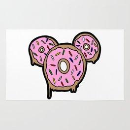 Mickey Donuts Rug