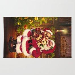 Santa Claus 3 Rug