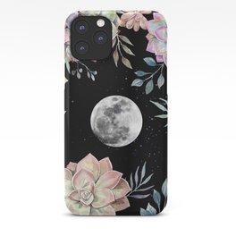 succulent full moon 4 iPhone Case