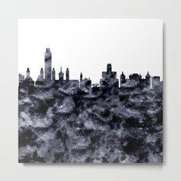 Albany New York City Skyline Metal Print