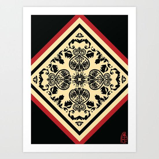 Victorian Goth Print Art Print