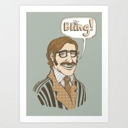 Bling! Art Print