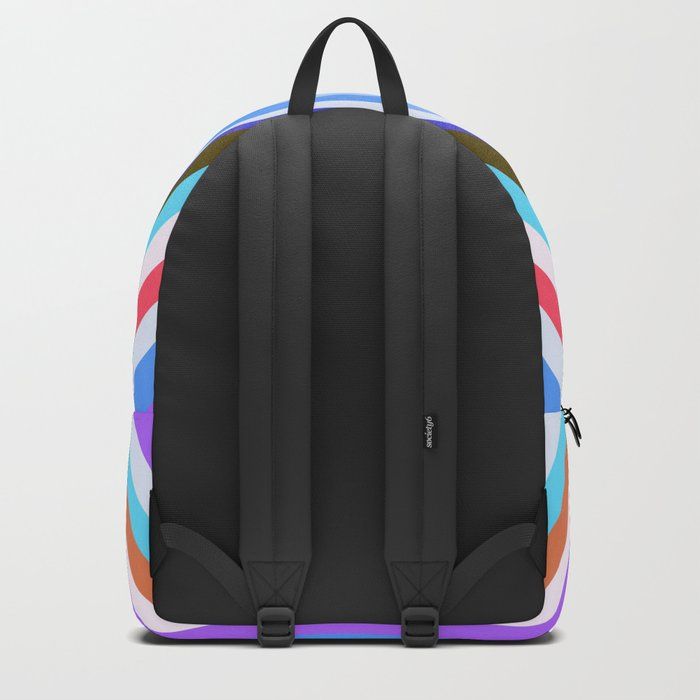 Ship and waves Backpack