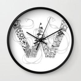 "Zenletter ""W"" Wall Clock"