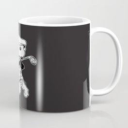 Box and Whiskers Links Coffee Mug