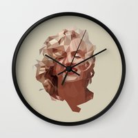 marilyn Wall Clocks featuring marilyn by gazonula