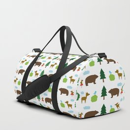 The Essential Patterns of Childhood - Forest Duffle Bag