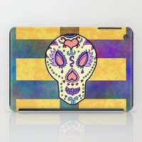 sugar skull iPad Cases featuring Sugar Skull by Linda Tomei