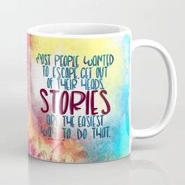 Stories Are The Way (Truthwitch) Coffee Mug