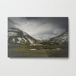 Rugged Lands Metal Print