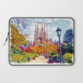 La Sagrada Familia - Park View Laptop Sleeve