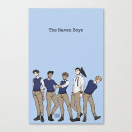 Bird Boys Canvas Print