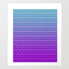 Heart of colors Art Print