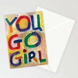 You Go Girl Stationery Cards