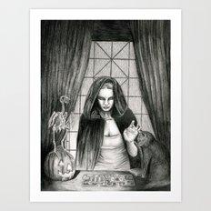 The Mis-Fortune Teller Art Print