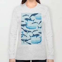 Creatures of the Seas Long Sleeve T-shirt