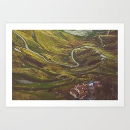 A Country with Italy Art Print