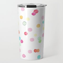 Happy colorful confetti print Travel Mug