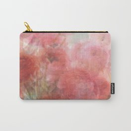 Watercolor Ranunculus Carry-All Pouch