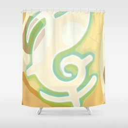 Magic Creature Egg - Dofus Shower Curtain