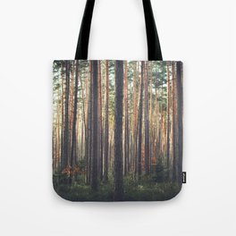 Alone In The Forest Tote Bag