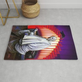 Dr. Phibes Vincent Price horror movie monsters Rug