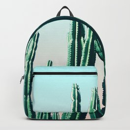 Green Cactus 10 Summer Backpack
