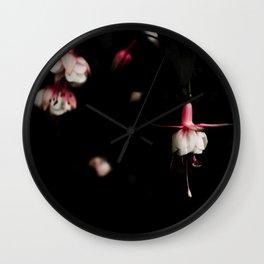 Fuschia Wall Clock