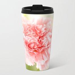 Pink Carnation Admiration  Travel Mug