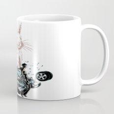 Rabbit In Your Headlights Mug