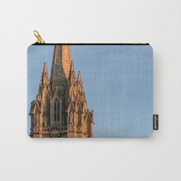 Spire of St. Mary the Virgin Anglican Church Oxford University England Carry-All Pouch