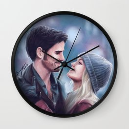 Welcome home, love Wall Clock