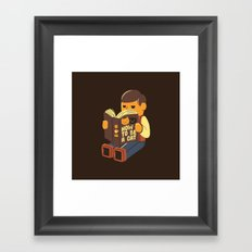 How To Be a Cat Framed Art Print