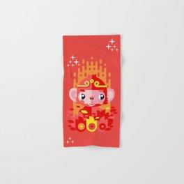 Fire Monkey Year Hand & Bath Towel