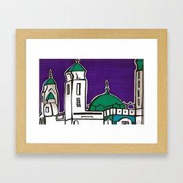 La Grande Mosquee Framed Art Print