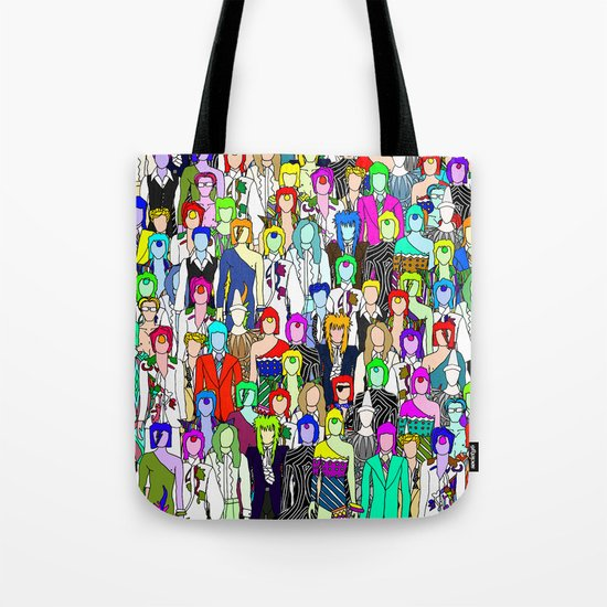 Bowie Punks in Tokyo Tote Bag