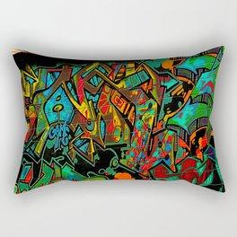 Street Art ATL Rectangular Pillow