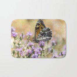 Hipparchia cretica Butterfly Bath Mat