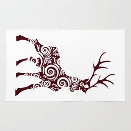 ornamental stag Rug