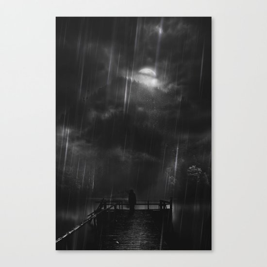 A promise is a promise Canvas Print