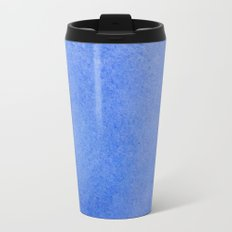 Azure watercolor Travel Mug