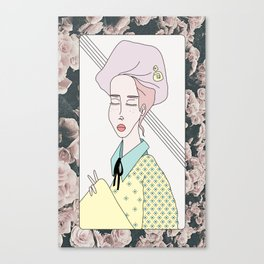 Candy girl Canvas Print