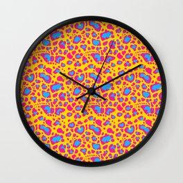 Leopard Print - Pan Wall Clock