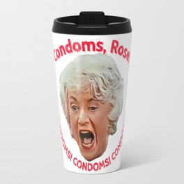 Golden Girls- Condoms, Rose! Travel Mug