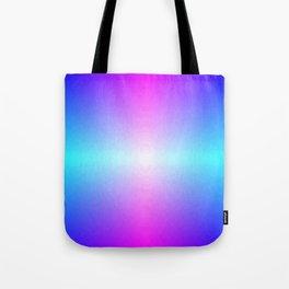Four color blue, purple, pink, white ombre Tote Bag