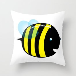 easy as a bee see.  Throw Pillow