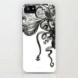 Thunders of the Upper Deep iPhone Case