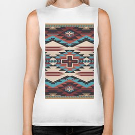 American Native Pattern No. 67 Biker Tank