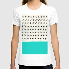 Aqua x Dots T-shirt
